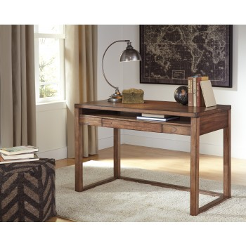 Baybrin - Rustic Brown - Home Office Small Desk
