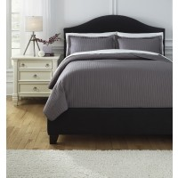 Raleda - Gray - King Comforter Set