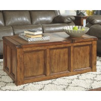 Tamonie - Medium Brown - Rect Lift Top Cocktail Table
