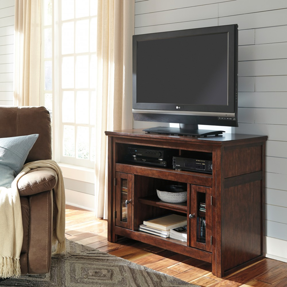 Harpan - Reddish Brown - TV Stand