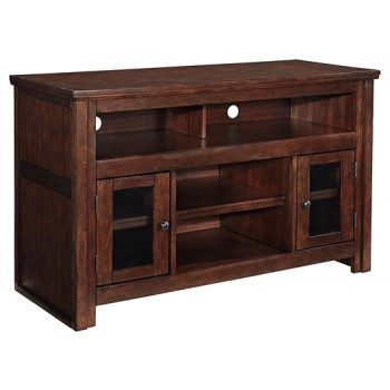 Harpan - Reddish Brown - Medium TV Stand