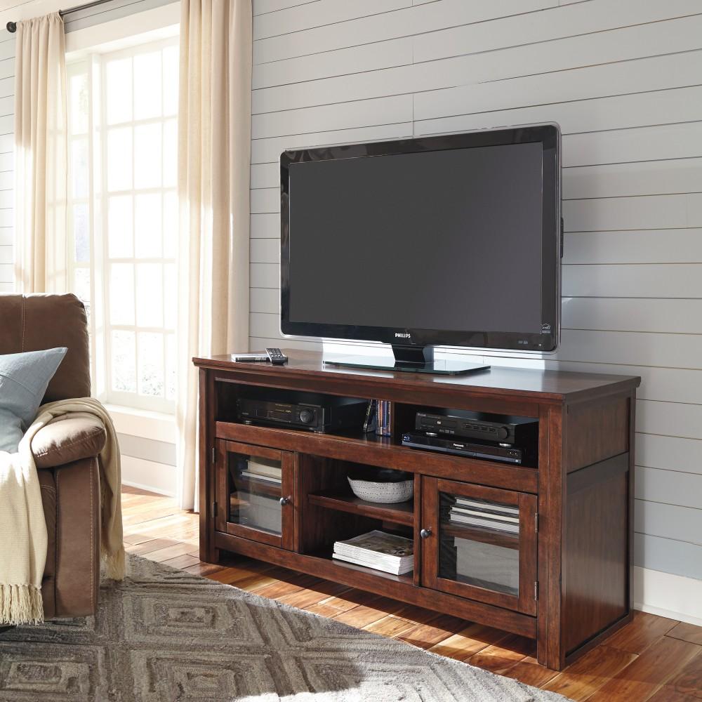 Harpan - Reddish Brown - Large TV Stand