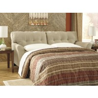 Laryn - Khaki - Queen Sofa Sleeper