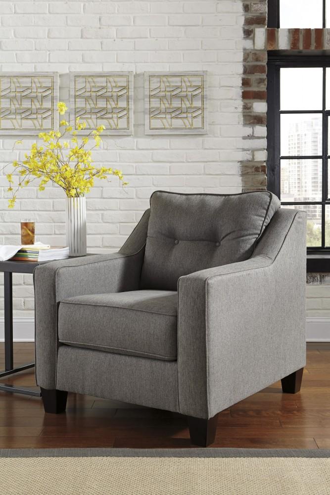 Brindon - Charcoal - Chair