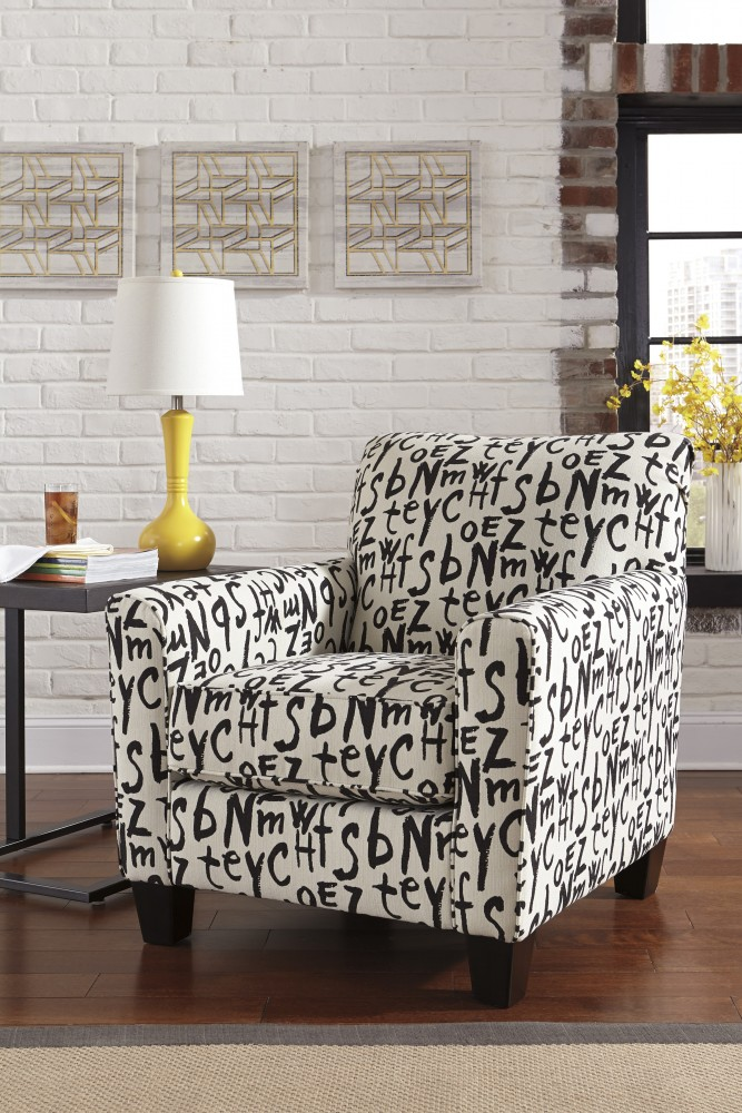 Brindon - Charcoal - Accent Chair