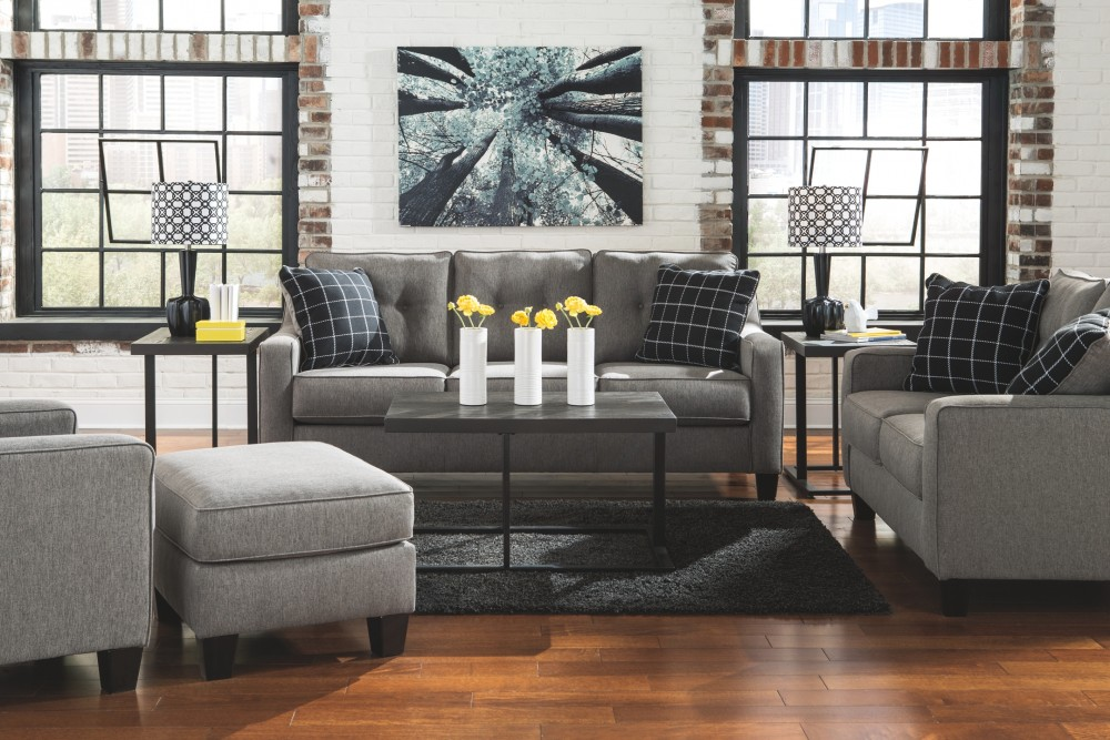 Brindon Charcoal Sofa 5390138 Sofas Furniture Garage
