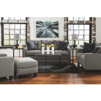 Brindon - Charcoal - Queen Sofa Sleeper