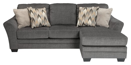 Sensational Braxlin Charcoal Sofa Chaise Onthecornerstone Fun Painted Chair Ideas Images Onthecornerstoneorg