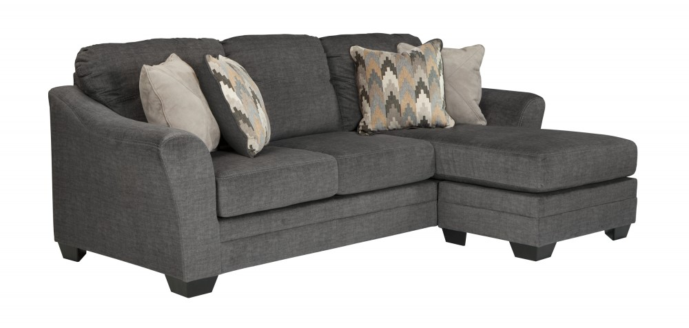 Superb Braxlin Charcoal Sofa Chaise Onthecornerstone Fun Painted Chair Ideas Images Onthecornerstoneorg