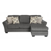 Braxlin - Charcoal - Sofa Chaise