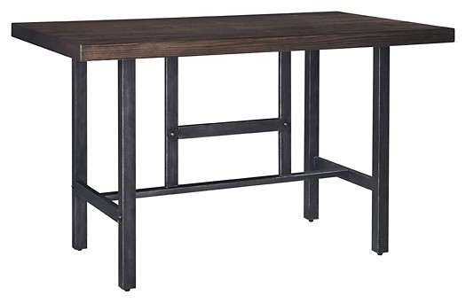 Kavara - Medium Brown - RECT Dining Room Counter Table