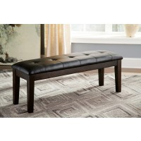 Haddigan - Dark Brown - Large UPH Dining Room Bench