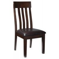 Haddigan - Dark Brown - Dining UPH Side Chair (2/CN)