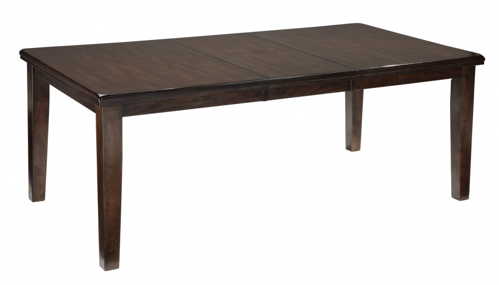 Haddigan - Dark Brown - RECT Dining Room EXT Table