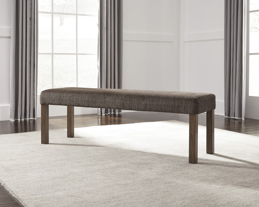 Tamilo - Gray/Brown - Large UPH Dining Room Bench | D714-00 ...