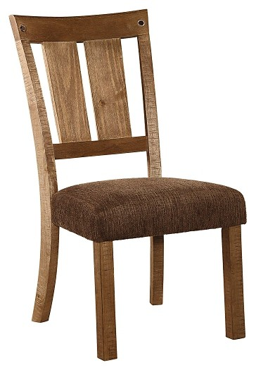 Tamilo - Gray/Brown - Dining UPH Side Chair (2/CN)