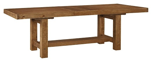 Tamilo - Gray/Brown - RECT Dining Room EXT Table