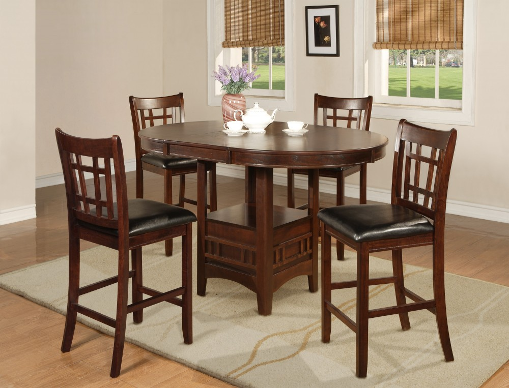 5 Pc Counter Height Dinette Set Dining Room Groups D Amp L