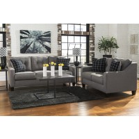 Brindon - Charcoal - Sofa & Loveseat