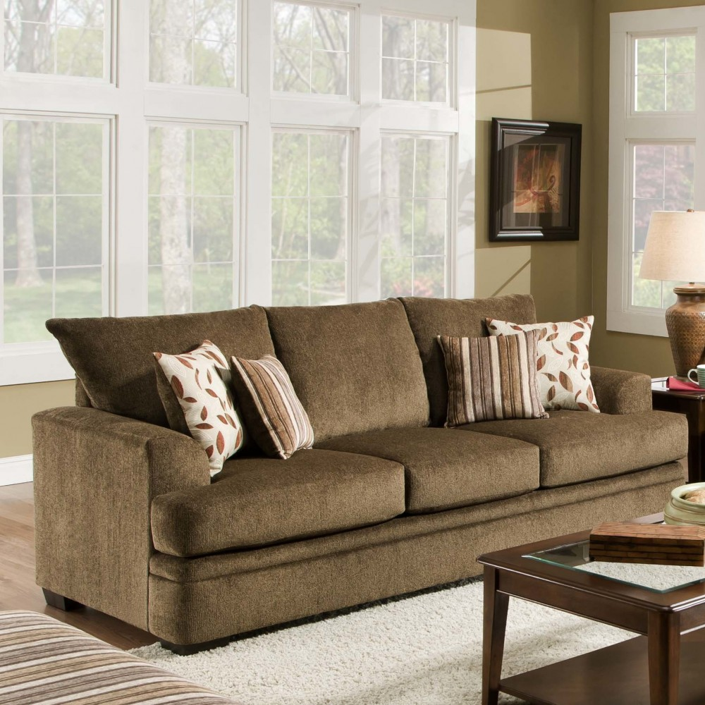 Furniture Of America Living Room Collections: Cornell Cocoa Sofa