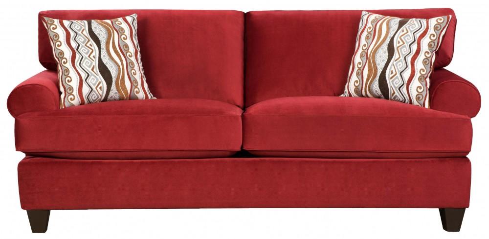 Jackpot Red Sofa | 47B3 | Sofas | Furniture World Superstore