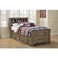 Trinell - Brown - Under Bed Storage w/Side Rail