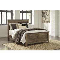 Trinell - Brown - Queen Panel Footboard