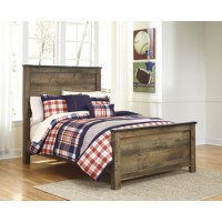 Trinell - Brown - King Panel Footboard