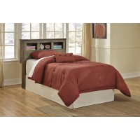 Trinell - Brown - Twin Bookcase Headboard