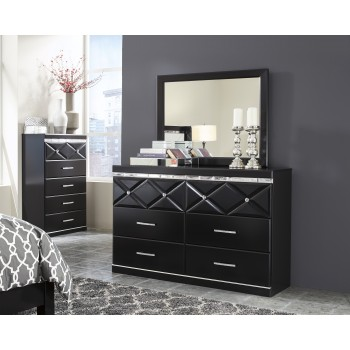 Fancee Dresser & Mirror