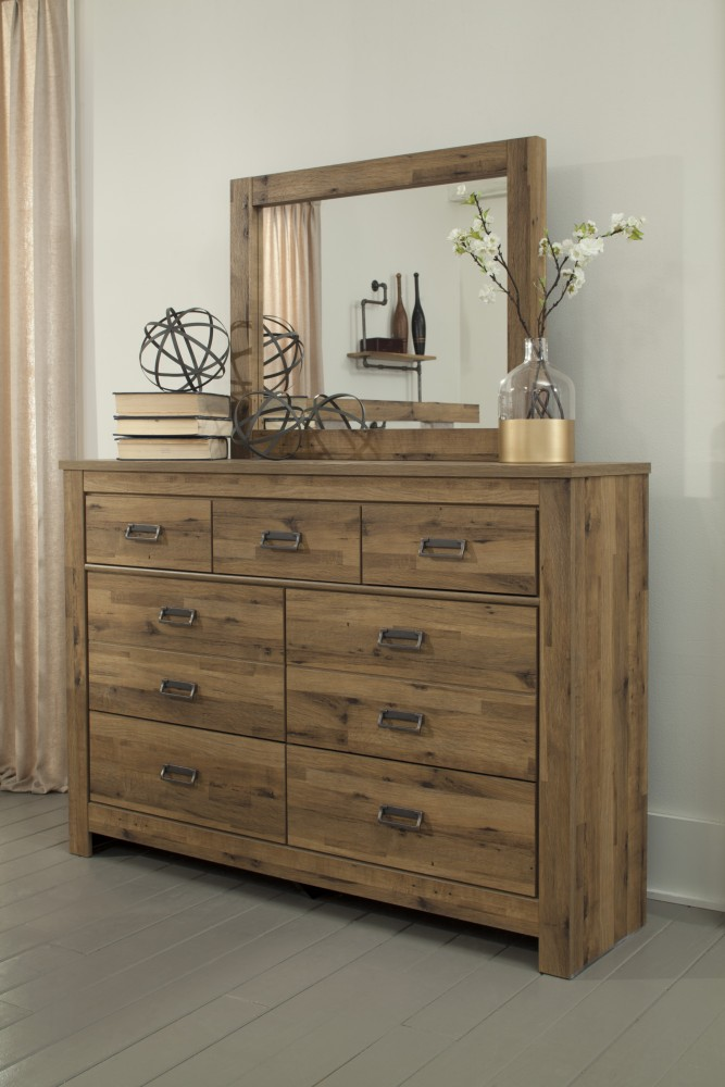 dresser with hutch mirror headboard cinrey dresser mirror b3693136 railway