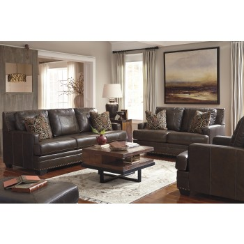 Corvan - Antique - Sofa & Loveseat