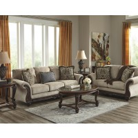 Laytonsville - Pebble - Sofa & Loveseat