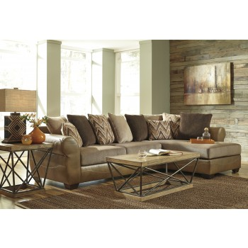 Declain - Sand 2 PC RAF Chaise Sectional