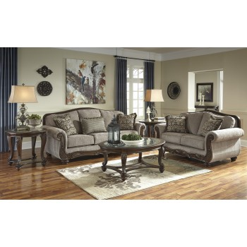 Cecilyn - Cocoa - Sofa & Loveseat
