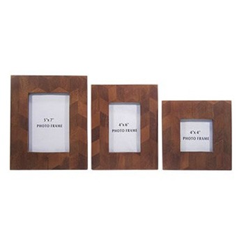 Kabecka - Brown - Photo Frame (Set of 3)