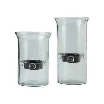 Kadeem - Clear - Candle Holder (Set of 2)