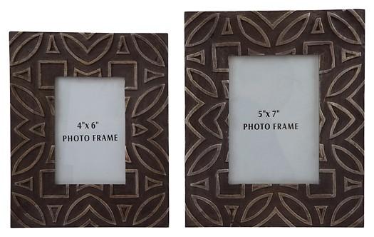 Marquise - Antique Black - Photo Frame (Set of 2)