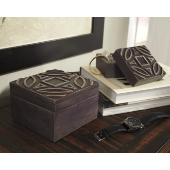 Marquise - Antique Black - Box (Set of 2)