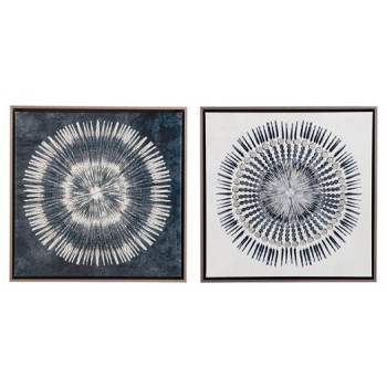 Monterey - Blue/White - Wall Art Set (2/CN)