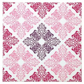 Jadine - White/Pink - Wall Art