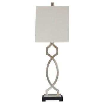 Taggert - Silver Leaf - Metal Table Lamp (1/CN)