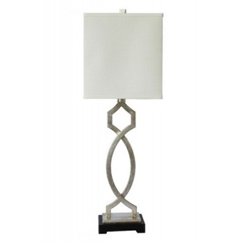 Taggert - Silver Leaf - Metal Table Lamp (1/CN)
