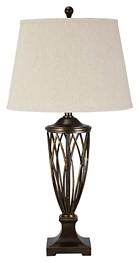 Makai - Brown - Poly Table Lamp (1/CN)