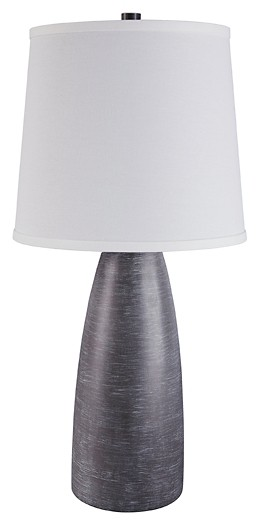 Shavontae - Gray - Poly Table Lamp (2/CN)