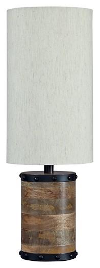 Ian Natural Wood Table Lamp 1 Cn L327194 Lamps