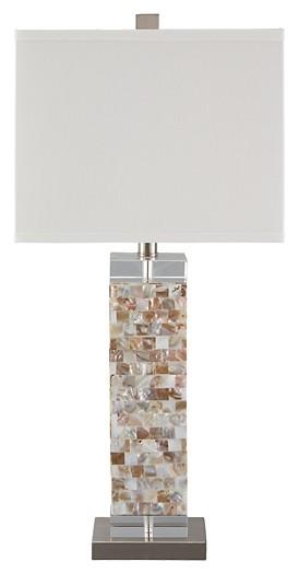 Tahira - Cream - Shell Table Lamp (1/CN)