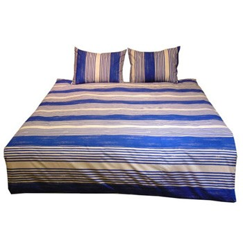 Taries - Blue - Twin Duvet Set