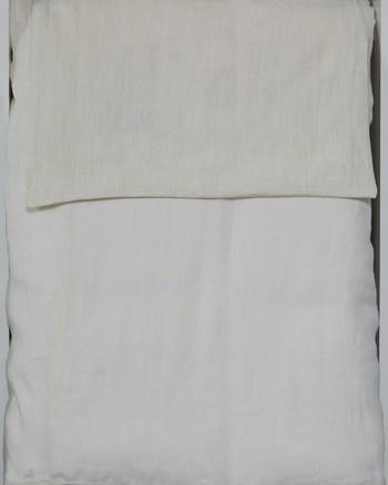 Bergden - Ivory - Queen Duvet Set