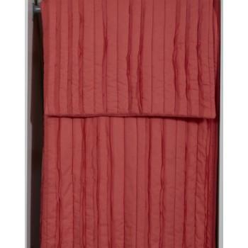 Solsta - Coral - Queen Comforter Set